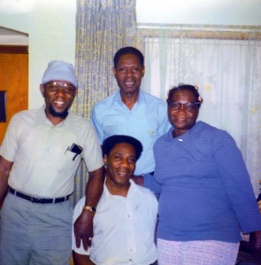 Siblings: James Tyler, Ernest, and LevieTrotter and Irene Trotter Newton