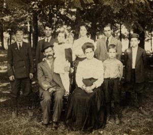 The Family of Cornelius and Ellen Shea.