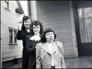 June Shea, Kay Ammerman and Ethel Shea.