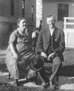 Lizzie (Groner) and George Bailey