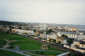 Salthill and Galway Bay from a Ferris Wheel, Summer 1997.