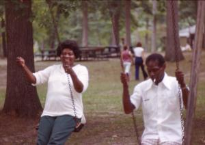 Grandma & Grandpa Trotter, c. 1981