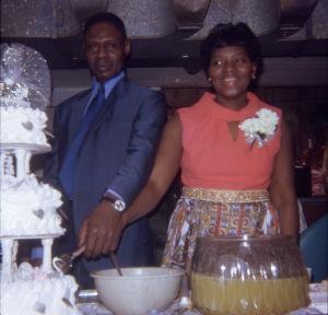 Grandma & Grandpa Trotter, 1972