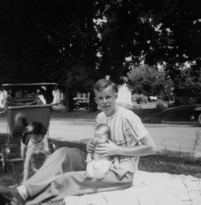 Uncle & Mom, c. 1952