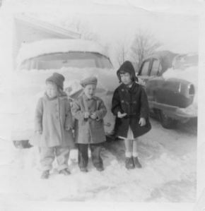 The Johnson Kids, c. mid. 1950s.