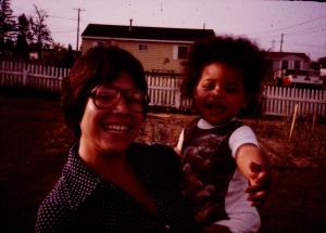 Mom & Jess, 1978