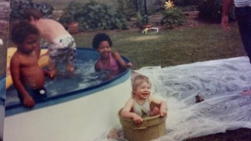 Pool Party c. 1982