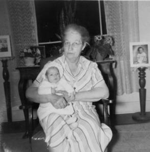 Lula V. (Holden) Porter & Mother, 1952