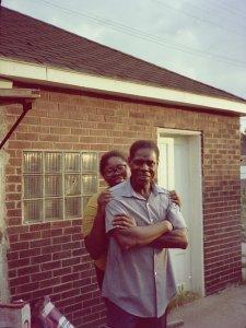 Grandpa & Aunt, c.1976