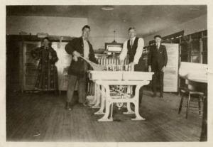 Robert Shea at the MichiganState Sanatorium for Tuberculosis, Howell, Michigan c.1919