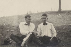 Robert Shea (Left) and Friend