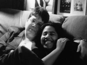 Mom & I, May 2002.