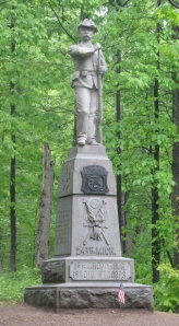 Monument to the 24th Michigan Infantry at Gettysburg, Pennsylvania
