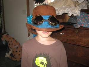 My Steampunk Nephew