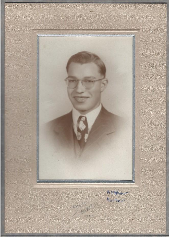 Sepia photograph of Arthur Porter.